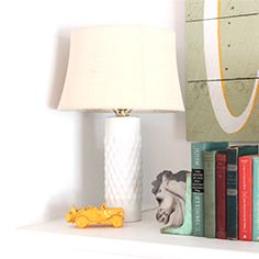 Learn how to make your own lamp from any vase.