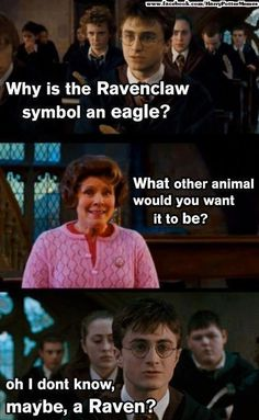 harri potter, raven, fan art, eagl, symbol, harry potter memes, thought, harry potter funnies, funny harry potter