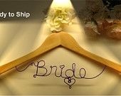 bride hanger for gown