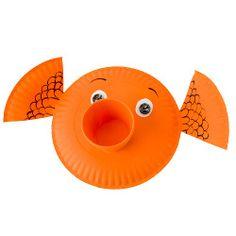 goldfish paper plate