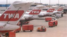 Tails of TWA jets.