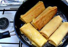 Sweet Cheese Blintzes