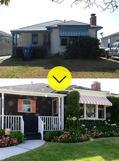 darling bungalow makeover