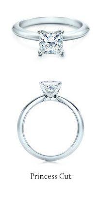 Tiffany Princess Cut Diamond