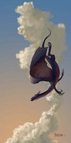 A dragon practices for the finale of the Four Fairies Floating Follies held at Galdoren Castle (The Door in the Sky). #fantasybooks