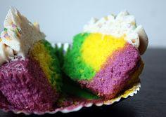 Mardi Gras Cupcakes!