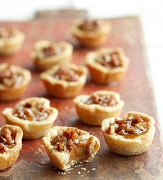 These tiny treats contain all the tantalizing flavors of pumpkin and pecan pie.