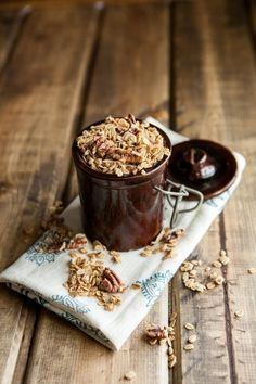 maple pecan granola  http://www.yummly.com/