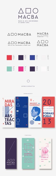 Identidad de Museo by julia ferrando, via Behance