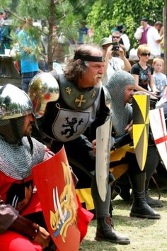 Meet knights, peasants, and the royal family during the Oklahoma Renaissance Festival at the Castle of Muskogee each Spring!