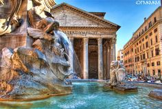 HDR Photo of Rome