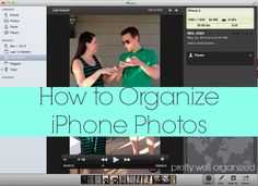 How to organize iPho
