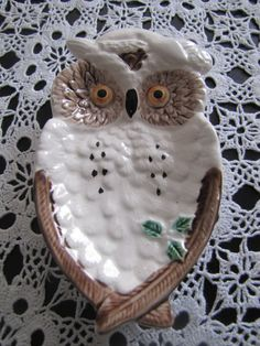 An owl spoon rest.  Because you always need a good spoon rest.