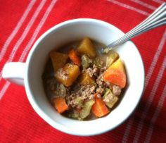 Primal Family Eats Ground Beef and Root Vegetable Stew