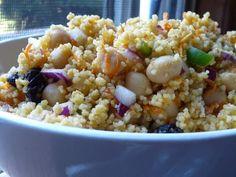 chickpea couscous salad