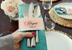 DIY Place Cards With