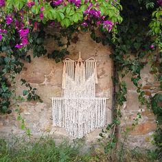 la campagne #macrame wallhanging by Ranran Desing