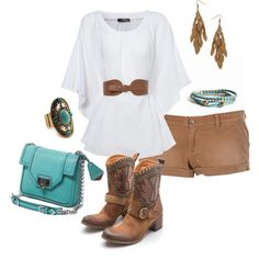 concert outfits, fashion, boot, cloth, western style, summer outfits, denim shorts, cowgirl style, shirt