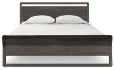"""Blu Dot Woodrow Queen Bed, Smoke"" - modern - Beds - Blu Dot"
