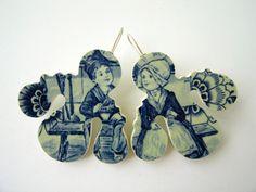 Girandole-Fantaisie#1 - Shu-Lin Wu, Delft Porcelain, Silver