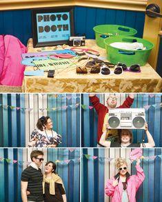 80s-theme-birthday-party-