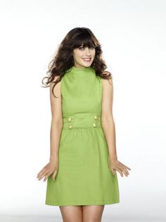 """Going as quirky Jess (Zooey Deschanel) from Fox's """"New Girl"""" simply means you need to find a vintage frock and act like your about 15 years younger than you really are."""