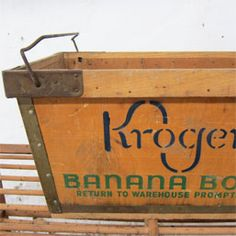 Vintage Banana Crates On Pinterest