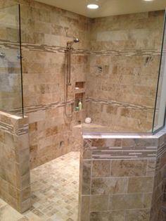 KC Master Bathroom Remodel | Walk In Shower