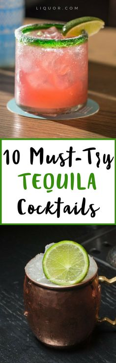 #Tequila cocktails a