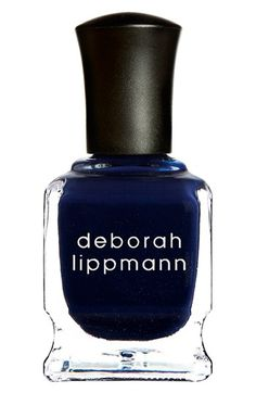 Gorgeous nail polish color. #polish #nails #blue
