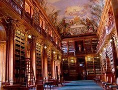 La biblioteca del monasterio de Strahov en Praga