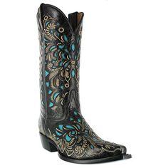 Shyanne® Women's Butterfly Inlay Western Boots