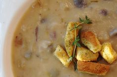Foodista   Recipes, Cooking Tips, and Food News   Bacon & Potato Soup, Gluten & Dairy Free