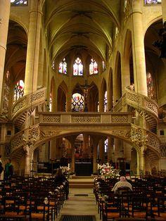 Eglise Saint-Etienne-du-Mont, Paris