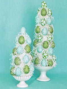 DIY-egg topiary