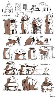 desert house! by ~PANDORA-9 on deviantART