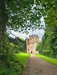 Medieval, Craigievar Castle, Scotland