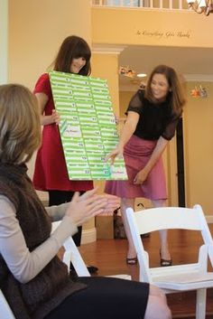 baby shower game