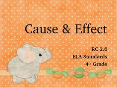 Here is a fun activity to practice cause and effect.  Students will practice identifying cause and effect, and then transition into a writing activ...