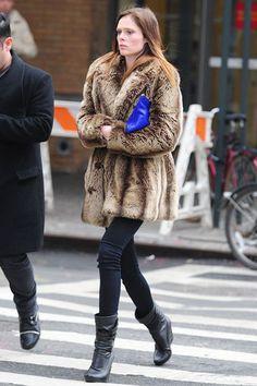 Coco Rocha in New York City