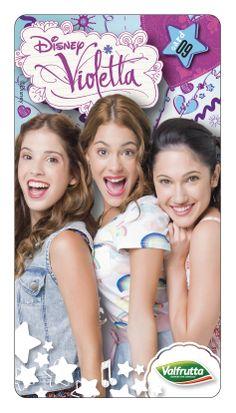 #Violetta #Disney #Valfrutta