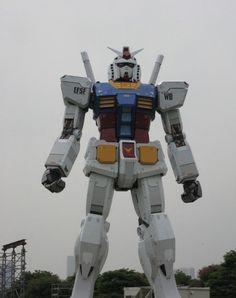 The Gundam Statue
