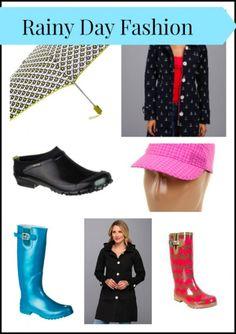 Rainy Day Fashion #FashionFriday