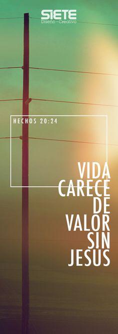 Hechos 20:24 NVI Sin embargo, considero que mi vida carece de valor para mí mismo, con tal de que termine mi carrera y lleve a cabo el servicio que me ha encomendado el Señor Jesús, que es el de dar testimonio del evangelio de la gracia de Dios