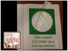 Use a paper CD cover as a journal pocket!!