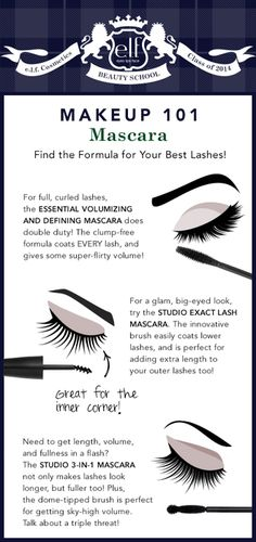 Hi Elfette! Ever wonder what e.l.f. Mascara would be perfect for YOU? It all depends on your lashes and the brush style. Our three fav's are shown here and really, you can't go wrong with any of these.