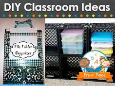 Things you can make for your pre-k, preschool, or kindergarten classroom.