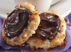 Coconut Butterscotch Fudge Cookies Recipe by Betty Crocker Recipes, via Flickr