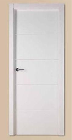 Puertas de paso on pinterest php for Puertas semi macizas blancas