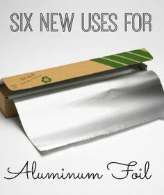 Discover six new ways to use aluminum foil! #sixonsaturday #newusesforthings #aluminumfoil   www.inspirationformoms.com